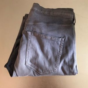 GAP Grey High Rise Skinny Jeans